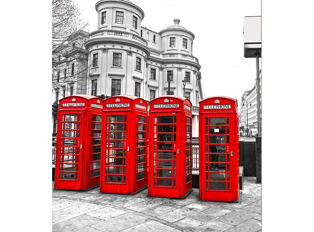 Fototapeta na míru Londýn 270 x 300 cm
